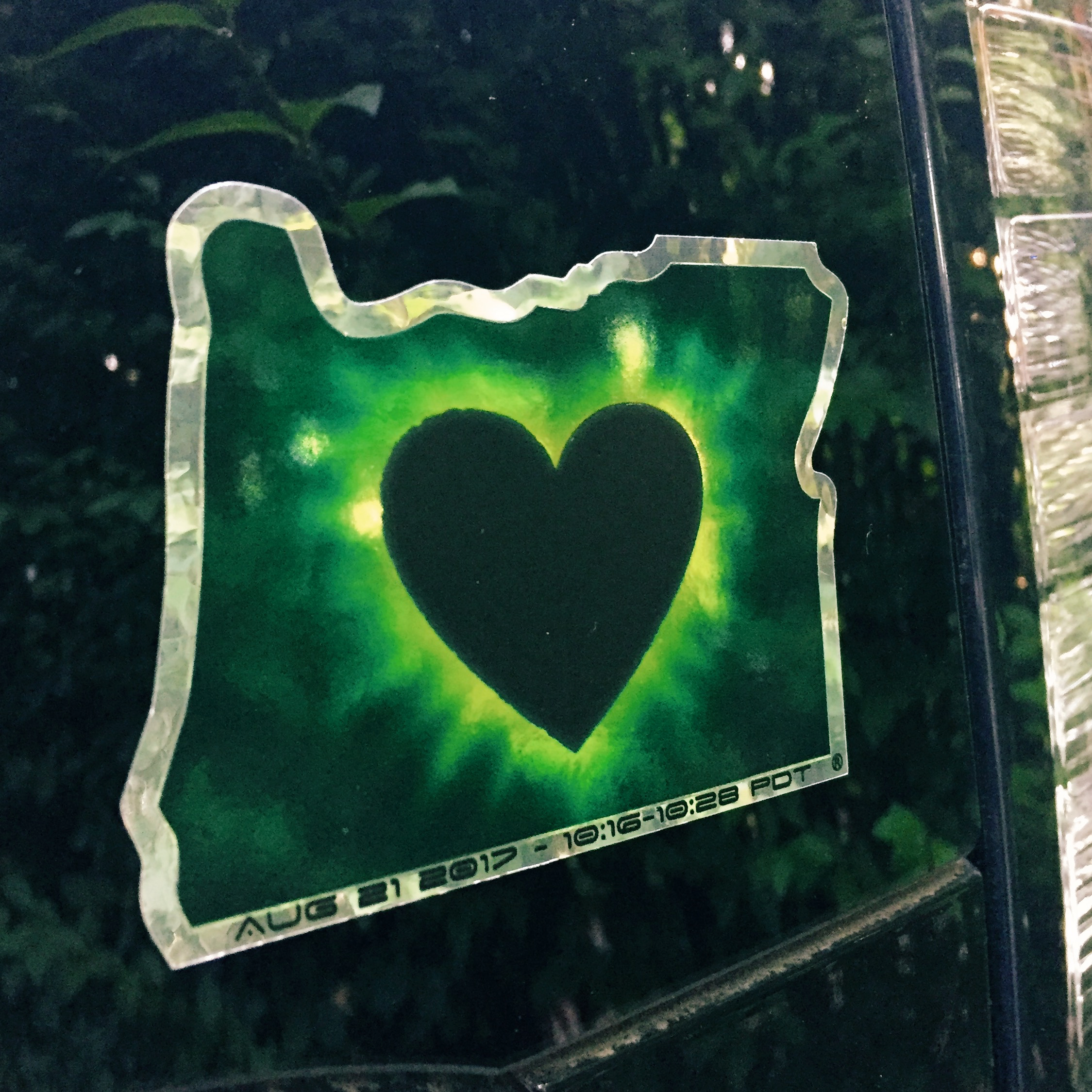 Oregon eclipse love.