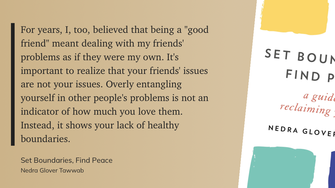 excerpt from Set Boundaries, Find Peace